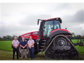 Case IH Magnum 380 CVX awarded ʺTractor of the Year 2015ʺ