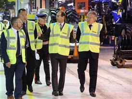 3 HRH The Earl of Wessex Royal Visit CNH Industrial Basildon