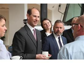 4 HRH The Earl of Wessex Royal Visit CNH Industrial Basildon