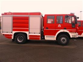 Magirus Firefighing vehicle for the Republic of Chile