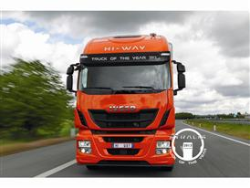 New Iveco STRALIS Hi-Way Awarded 'Truck of the Year'