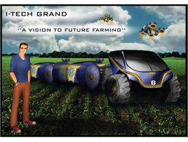 Joe, the Farmer of the Future, a character conceived by Domus Academy students