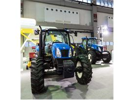 New Holland Agriculture products at CIAME 2015 show in China