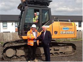 New Case Excavators arrive at Centre Plant