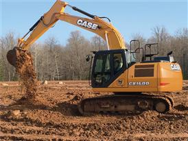 CASE CX160D excavator