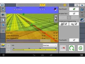 Case IH NextSwath Advanced Farming System Screenshot