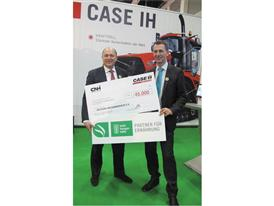 Case IH's donation to Welthungerhilfe
