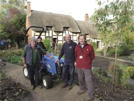 New Holland multi-tasks role at the Shakespeare Birthplace Trust