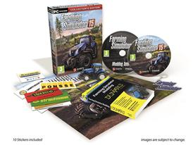 A full range of New Holland Agriculture equipment is featured in the Farming Simulator 15 computer game