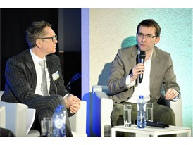Iveco Brand President Pierre Lahutte speaks at ACEA discussion panel