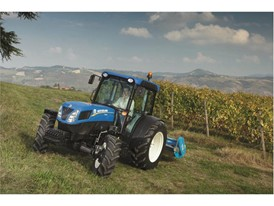 The New Holland Agriculture T4.105 LP tractor