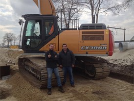 Operator and Francis Romero at Staphorst