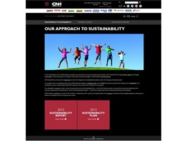 New CNHIndustrial.com - Sustainability