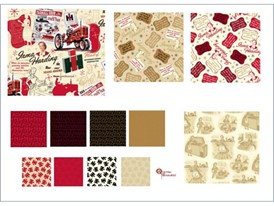 """The """"Remember When"""" fabric collection from Case IH  sports a vintage modern attitude"""