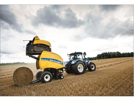 The IntelliBale technology consistently achieves a uniform bale size.