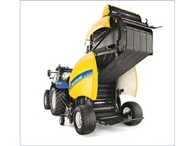 New Holland Agriculture upgrades its Roll-Belt variable chamber balers with silage functional improvements