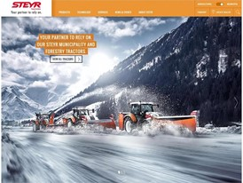New STEYR Website- Your Partner to Rely on Our STEYR Municipality and Forestry Tractors