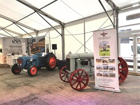 New Holland celebrates 100 years of tractor production at LAMMA