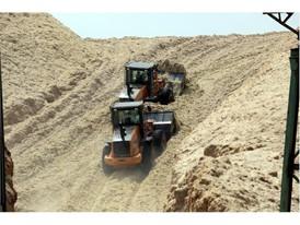 CASE machinery at work at Usina da Mata