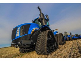 New Holland Introduces Smarttrax II Upgrades T9 Series Tractor Models