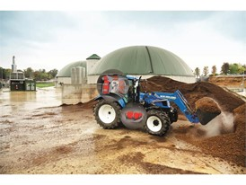 New Holland T6 Methane Power tractor prototype has a capacity of 52 litres