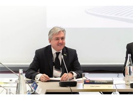 The event was attended by Carlo Lambro, Brand President of New Holland Agriculture