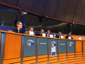 """Precision Farming for all""  panel at EU Parliament"
