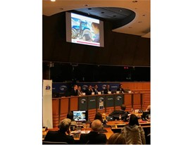 New Holland Agriculture Autonomous Concept Tractor discussed at EU Parliament