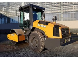 CASE Introduces SV208 Single Drum Vibratory Compactor for Soil Compaction Applications