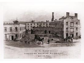 CASE Construction Equipment celebrates the 175th Anniversary of the Racine Threshing Machine Works