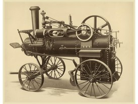 CASE 18 H.P. Portable Steam Engine