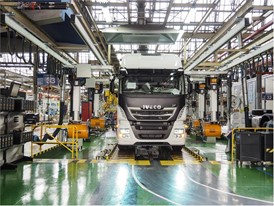 IVECO commercial vehicles manufacturing facility in Madrid, Spain