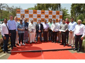 10,000th Vibratory Compactor rolls off the line at CASE Pithampur Plant in India
