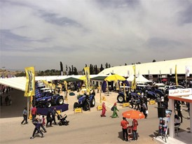 New Holland machinery at the heart of Morocco, SIAM 2017