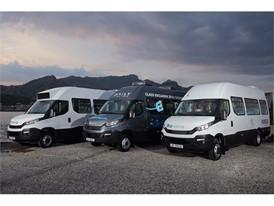 The IVECO Daily Minibus G7 fleet