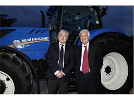 Carlo Lambro Brand President New Holland Agriculture (left) with Gian Luca Galletti, Italian Minister of the Environment