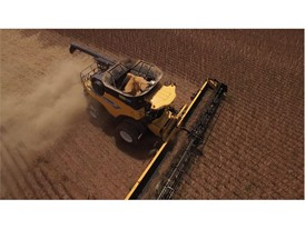 New Holland Agriculture Achieves World Record Title for Most Soybeans Harvested within Eight Hours with the CR8.90