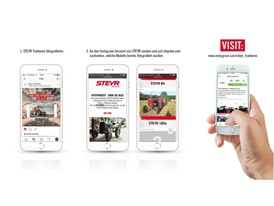 STEYR Quest - the first virtual collective album for all 140 tractors ever produced by the Austrian manufacturer.