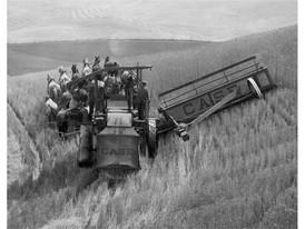 Case IH Historical Combine Harvesting Equipment