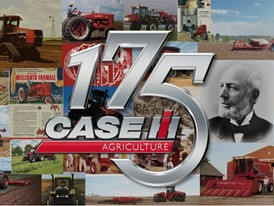 Case IH celebrates 175 years in agricultural equipment production