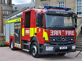 London Fire Brigade choose Magirus Team Cab