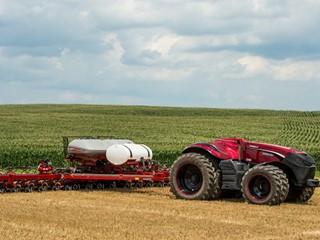 CNH Industrial brands reveal concept autonomous tractor development