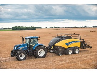 UK launch of New Holland's latest baling and forager products at LAMMA