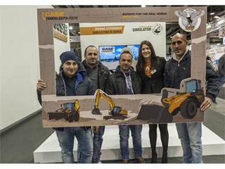 CASE shows its range at Samoter 2017