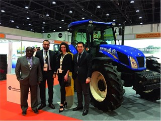 New Holland at Global Forum for Innovations in Agriculture in Abu Dhabi