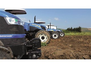 New Holland has organized a Commercial Training Camp for North Africa salesmen
