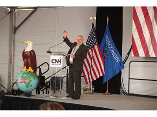 CASE Celebrates Company's 175th Birthday with Employees, Dignitaries and Case family members