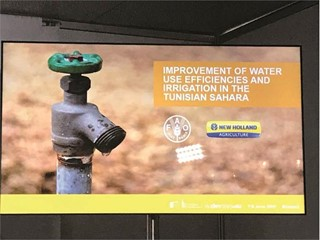 New Holland Agriculture presents water management project at European Development Days 2017