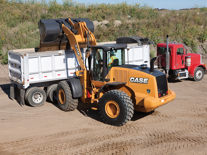 CASE 821F Tier 4 Final Wheel Loader small