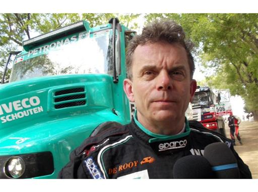 Iveco Dakar 2015 - Hans Stacey